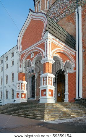 Portal Of Intercession Cathedral And North Soldiers' Quarters Of Izmailovo Military almshouse