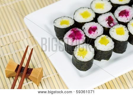 Pickled Sushi Ready To Eat