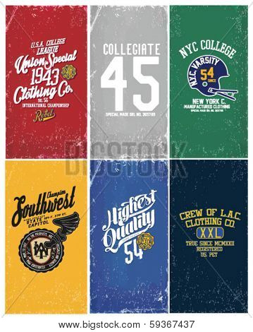 college varsity collection