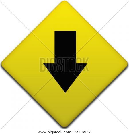 Downward Arrow Direction