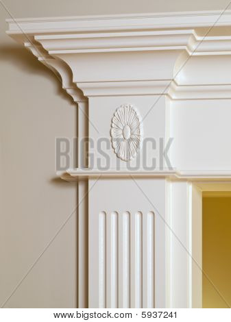Luxury Home Entrance Detail