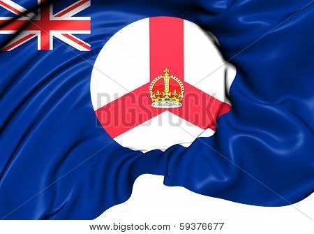 Flag Of Singapore From 1946 To 1959