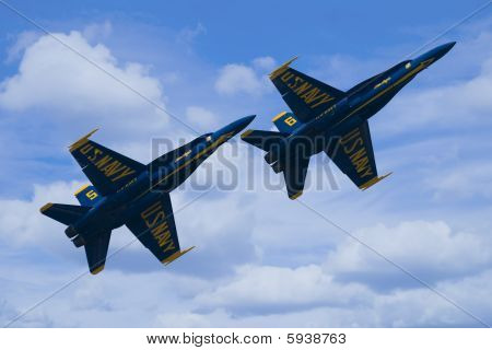 Two Blue Angels