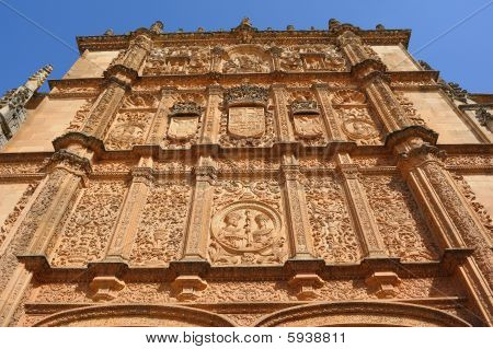 University of Salamanca exterior view Spain