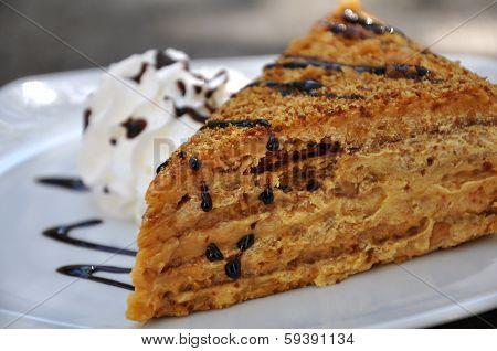 Medovnik - Traditional Honey Walnut Cake