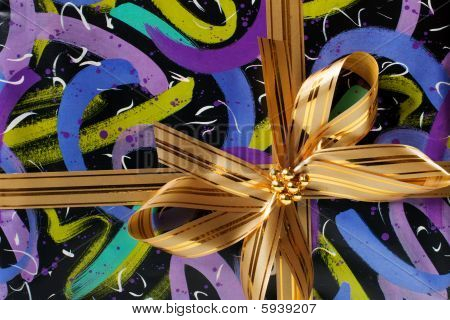 gift with ribbon