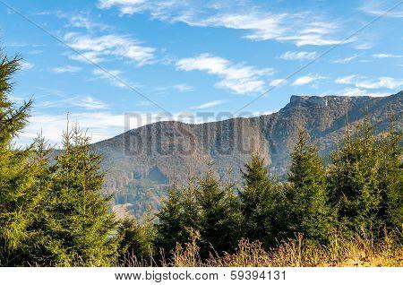 Klak Peak In Little Fatra Mountains