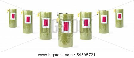 Seven Green Candles