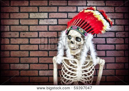 Native American Skeleton
