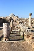 foto of jabal  - The ancient hill covered with ruins from bygone eras - JPG
