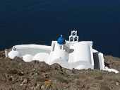 Orthodox Church In Santorini