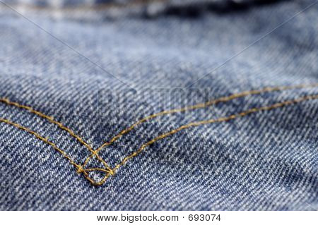 Denim Pocket Stictch