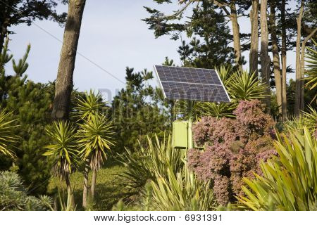 Solar Panel blending into surroundings