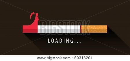 Cigarette Loading To Death