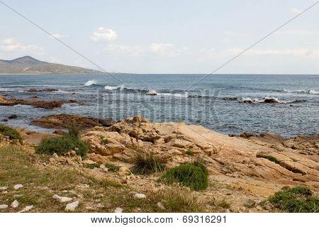Seashore in Sardinia