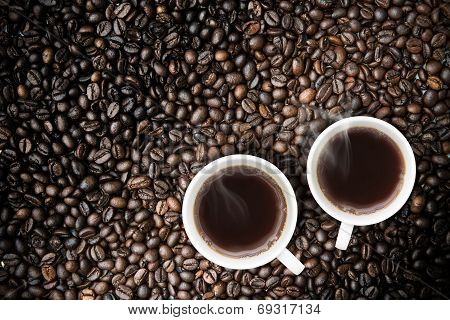 Coffee With Coffeebeans