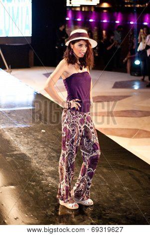 Fashion Show For Nancy Naguib Model 07