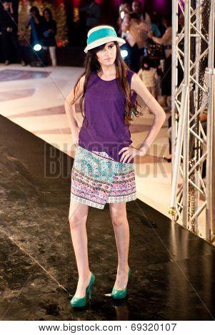 Fashion Show For Nancy Naguib Model 08
