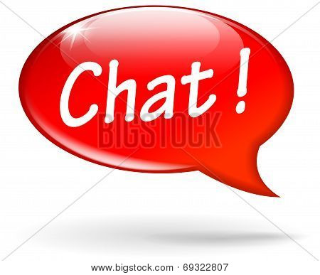 Vector Chat Speech Bubble