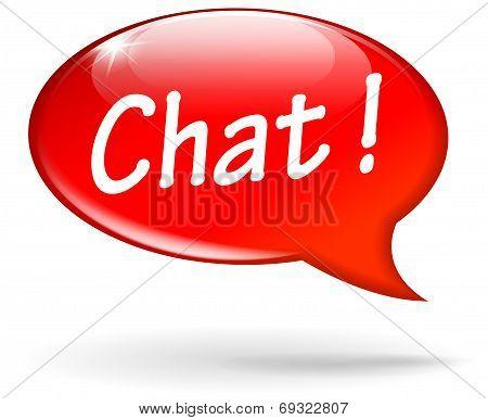 Vector Chat Speech Bubble