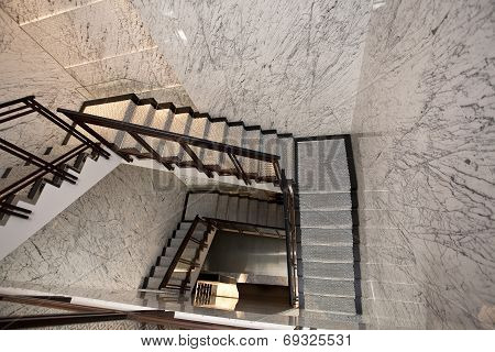 Stairwell In A Building