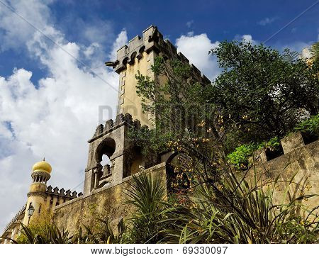The Pena National Palace, Sintra, Portugal