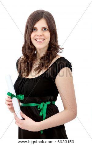 abgestufte Frau