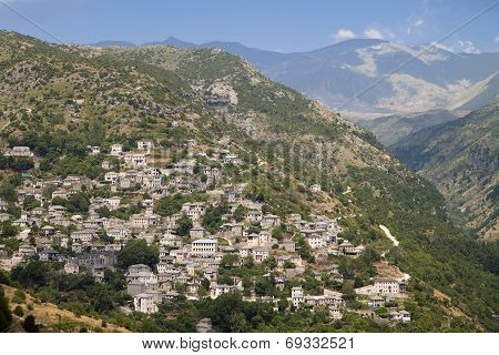 Syrako village in Greece