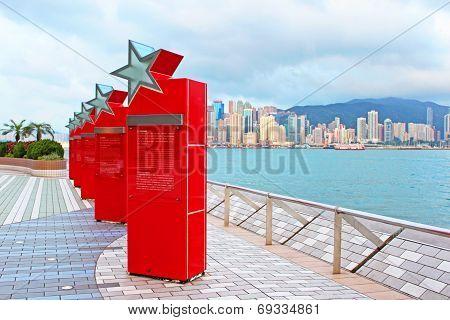 Avenue Of Stars In Hong Kong