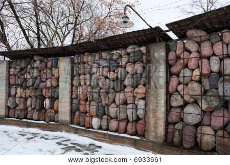 Memorial To The Victims Of Gulag. Moscow, Russia.