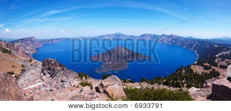 Crater Lake 45 megapixel Panorama