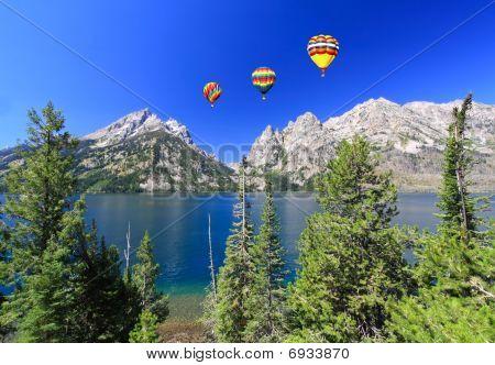 The Jenny Lake In Grand Teton