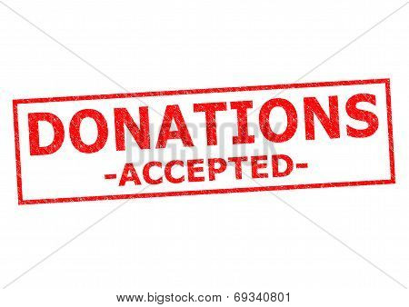 Donations Accepted