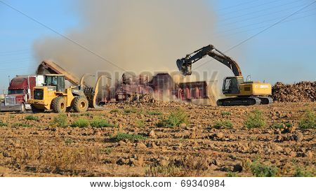 Clearing Land