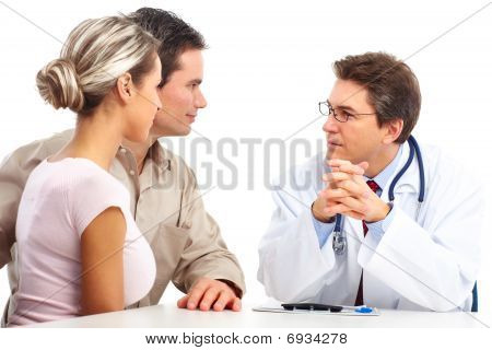 Doctor And Young Couple