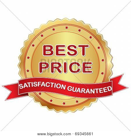 Business Vector rubber stamp - Satisfaction Guaranteed