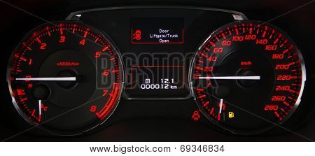 car dashboard