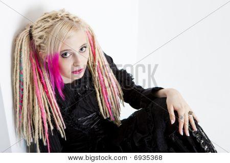 retrato de mulher
