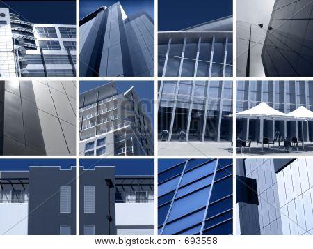 Montaje de la arquitectura moderna