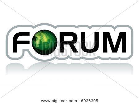 Forum sticker