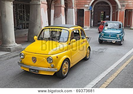Vintage Car Fiat 500 Abarth