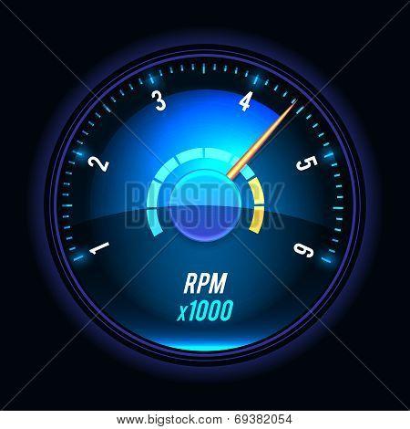 Vector tachometer.