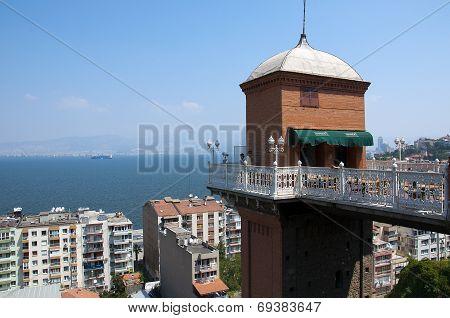 Historical Elevator in Izmir