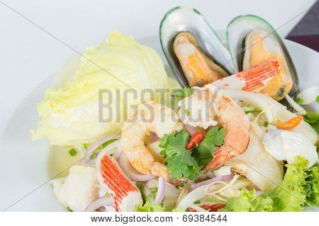 Seafood Salad, Thai Call