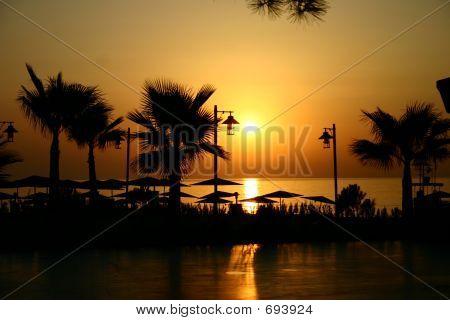 Sunrise At The Seashore