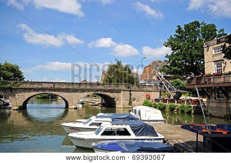 River Avon, Oxford.
