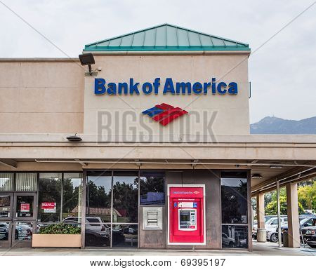Bank Of America Exterior