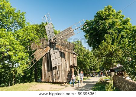 19th Century Old Windmill