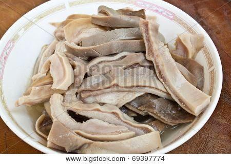 Boiled Sliced Hog Maw