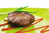 image of chives  - meat food  - JPG